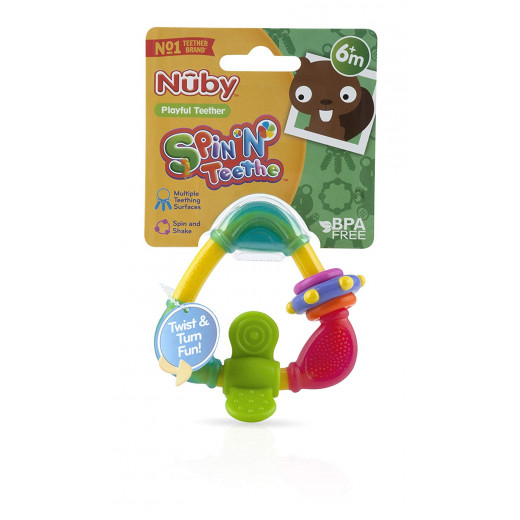 Nuby Triangle Teether with TPE