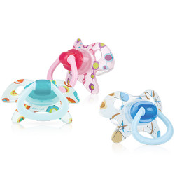 Nuby Pacifier Orthodontic GEO (6-18 Months)