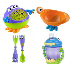 Nuby Monster Baby Feeding Set
