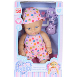 "Baby Habibi Tiny - 10"" New Born Soft Vinyl Baby"