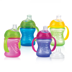 Nuby1P No Spill  Bottle (240ml)