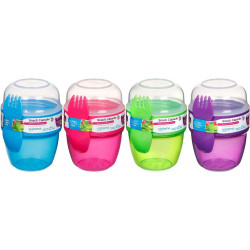 Sistema Snack Capsule to go, 515 ml, Various Colours