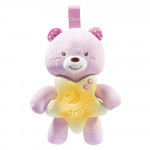 Chicco Toy First Dreams Goodnight Bear - Pink