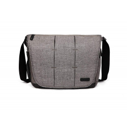 Colorland Ruby Messenger Baby Changing Bag (Gray)