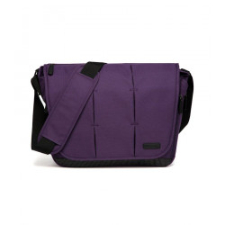 Colorland Ruby Messenger Baby Changing Bag (Purple)