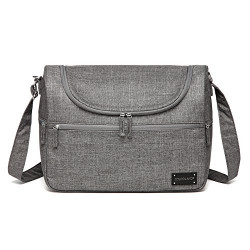 Colorland Herman Shoulder Baby Changing Bag (Gray)