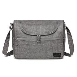 Colorland Herman Shoulder Baby Changing Bag (Gray)