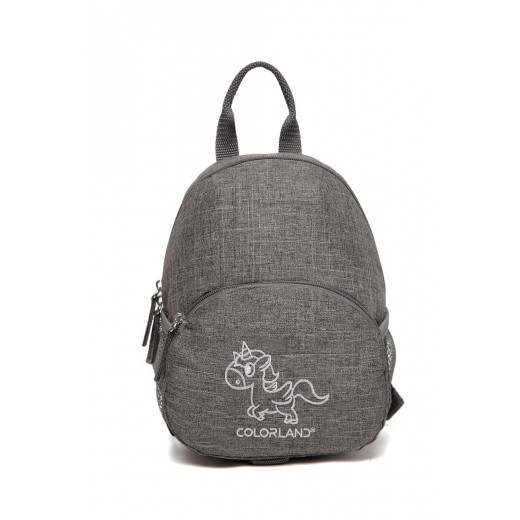 Colorland Anti-lost Lacey Baby Backpack Baby Walker, Heather Grey