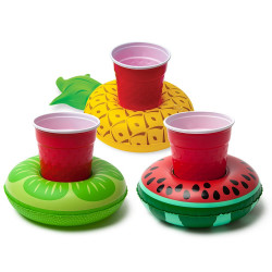 BigMouth Inc.Tropical Fruit Cup Holder (3-Pack)