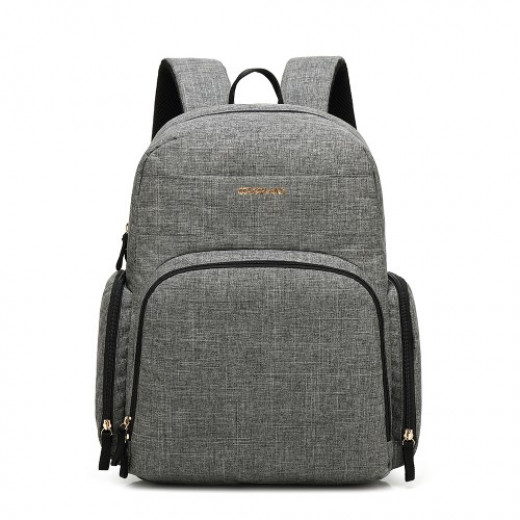 Colorland Baby Changing Backpack with Built in USB Port (Gray)