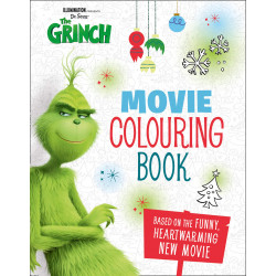 The Grinch: Movie Colouring Book: Movie Tie-in Paperback