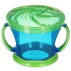 Munchkin Snack Catcher, Green and Blue