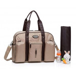 Colorland Abdie Duffel Shoulder Mummy Diaper Bag (Khaki)