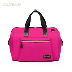 Colorland Diaper Bag Tote - Pink