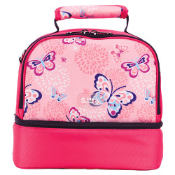 Sunveno Insulated Bottle and Lunch Bag, Butterfly