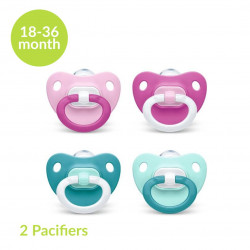 NUK Pacifier Fashion Stage 3 (18-36 months), X2 Pacifiers