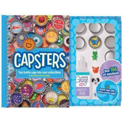 Klutz - Capsters: Turn Bottle Caps