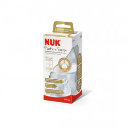 NUK Nature Sense 150ml Bottle With 0-6mths Silicone Teat