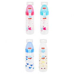 NUK Classic Bottle 250ML Stage 2 (6-18 month), Assorted Models X1 Bottle