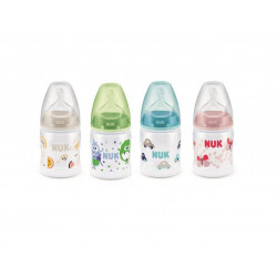 NUK First Choice Bottle, 150 ml, Assorted Colors, X1 Bottle