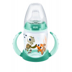 NUK First Choice Plus Bottle, Finding Dory Trainer with 2 Handles 150ml, Different Colors