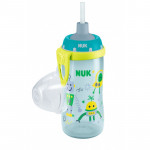 NUK Flexi Cup Soft Cup with Silicone Straw 300 ml, Leak-Proof