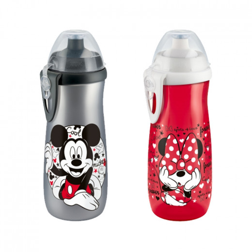 NUK Sports Cup Mickey, 450 ml, Different Colors