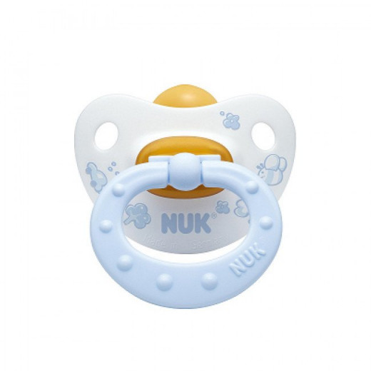 NUK Latex Soother Stage 1 (0-6 months), Blue