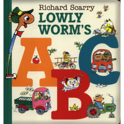 Harper Collins: Lowly Worm's ABC, Board book