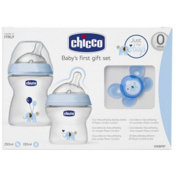 Chicco - Gift Set NaturalFeeling Boy - Elephant