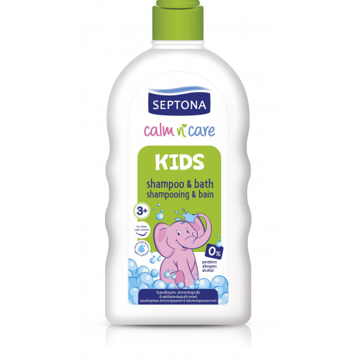 Septona Kids Shampoo and Bath, 500 ml