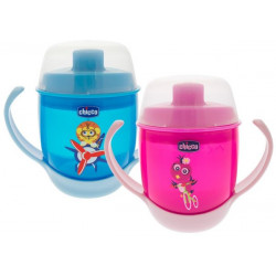 Chicco Meal Cup (12M+), Pink or Blue