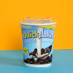 Quickflakes Choco Balls - Cup