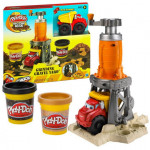 Play-Doh Building Sets Grinding Gravel with Dumper Truck