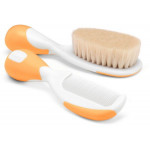 Chicco New Brush And Comb Orange