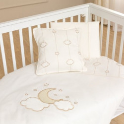 Funna Baby Bed Set 8pcs Luna Elegant - 70x140 - Gold