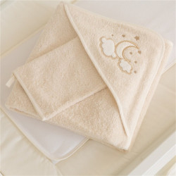 Funna Baby Towel Hooded Luna Elegant - Gold