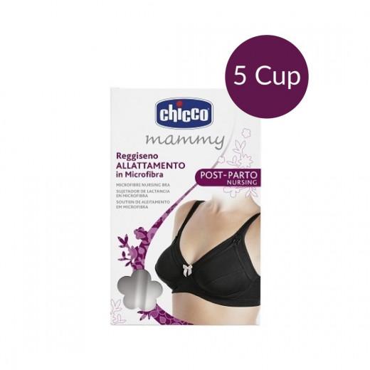 Chicco Bra Microfibre Maternity Pads-Black, 5C