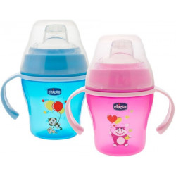 Chicco Soft Cup , Pink or Blue, (6M+)