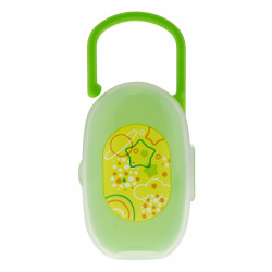 Chicco Soother Holder( 0m+), Green