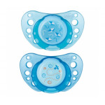 Chicco Physio Air Soothers (0-6M), Blue