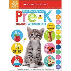 Scholastic: Jumbo Workbook: Get Ready For Pre-K