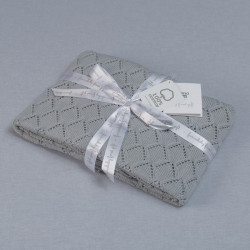 Funna Knitted Blanket Punto - Grey