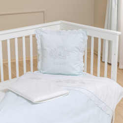Funna Baby Bed Set 8pcs Prince - 60X120 - Blue