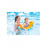 Intex See Me Sit Pool Rider Floats Ring Tube, Duck, Bunny & Racing Turtle - 3 Pack