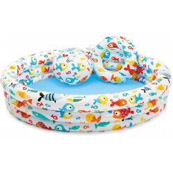 "Intex FishBowl Pool Set (20"" Ball, 20"" Ring)"
