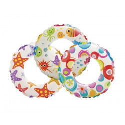 Intex Lively Print Swim Rings / Assortment Age 3 - 6