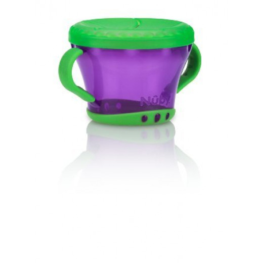 Nuby Snack Keeper - Purpule