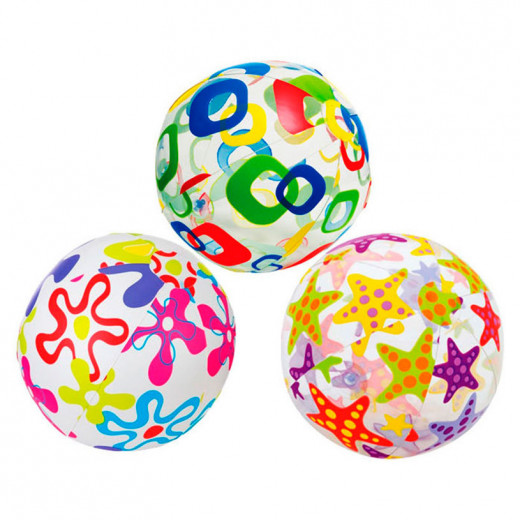 Intex Lively Print Balls / Assortment / Age 3 - 6