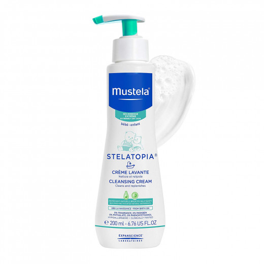 Mustela Stelatopia Cleansing Cream 200ml